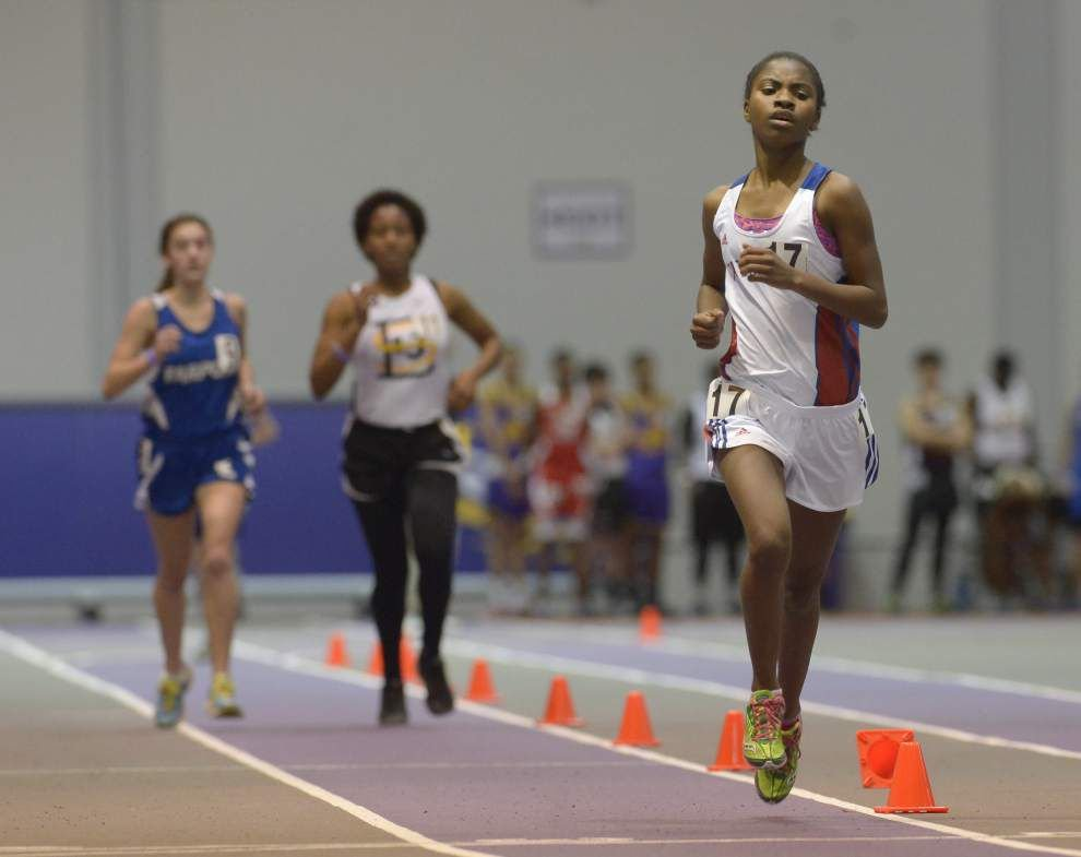 Zachary, Denham Springs standouts shine at LHSAA indoor track qualifying meet _lowres