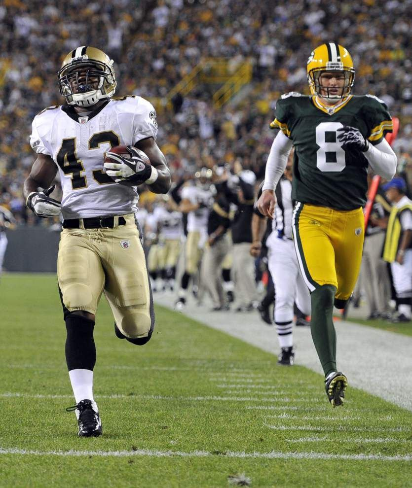 Saints put an emphasis on their quiet punt return game _lowres