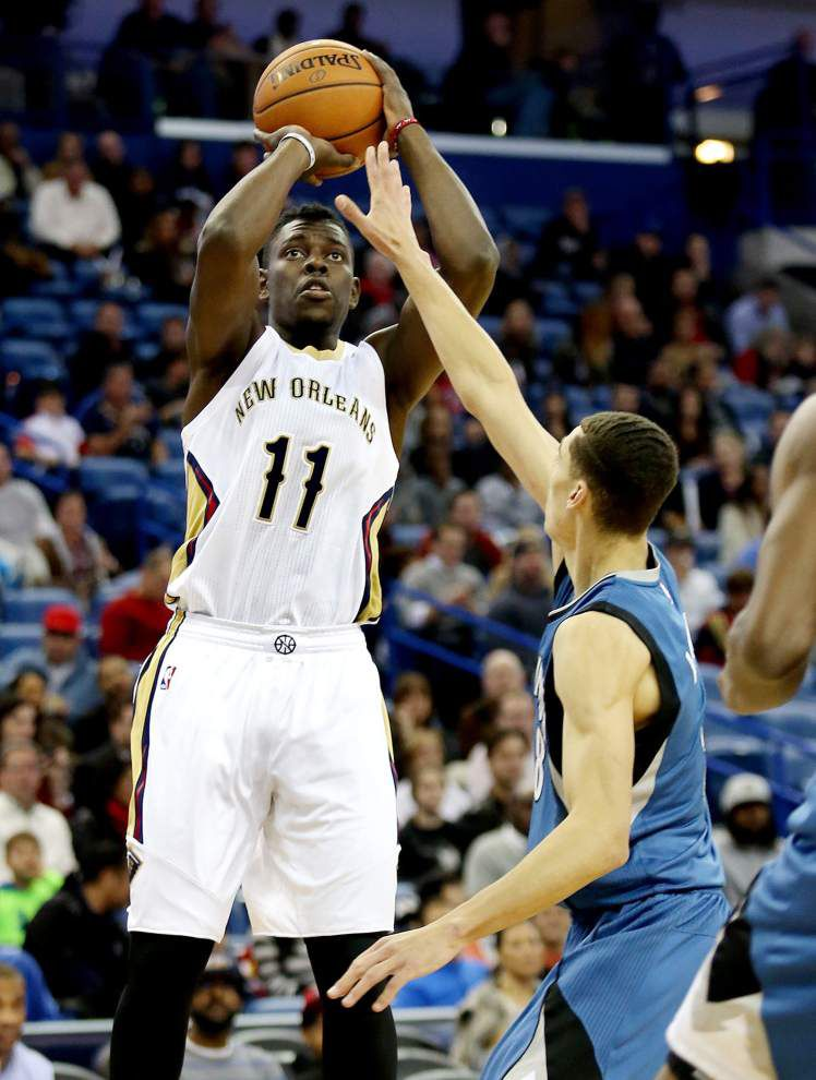 As four-game road trip looms, Pelicans hope to pack their hot shooting _lowres