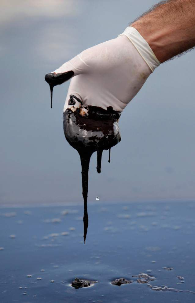 BP trial resurrects gloomy images of 2010 Gulf spill _lowres