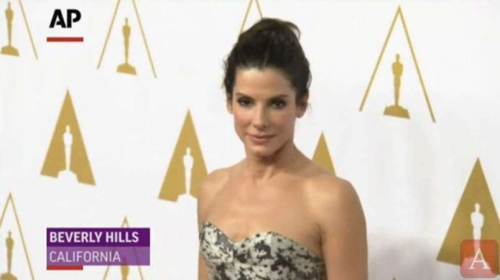 Nominees schmooze at Oscars luncheon _lowres