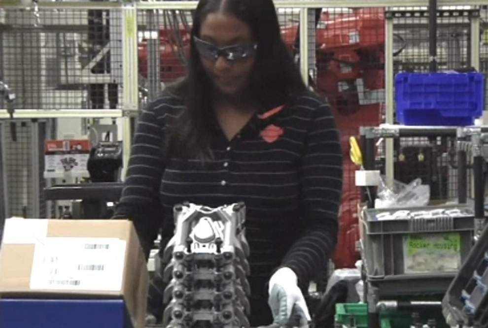 Manufacturers seek women for hard-to-fill jobs _lowres