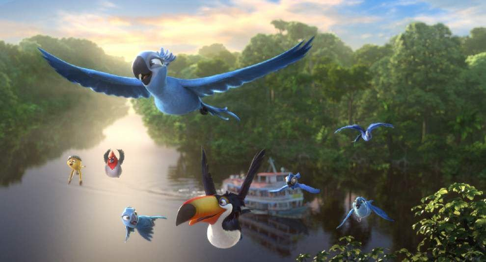 'Rio 2' dazzling but overloaded _lowres