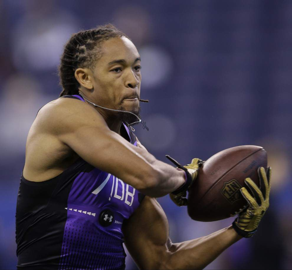 Former LSU cornerback Jalen Collins won't work out at LSU's pro day due to foot surgery _lowres