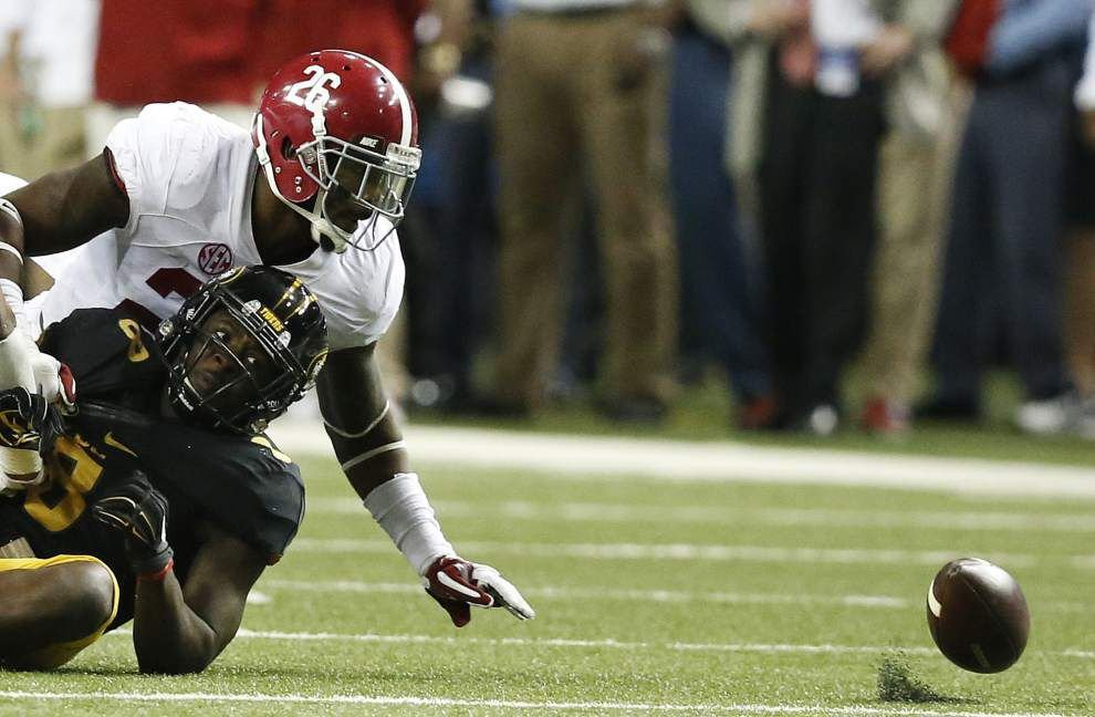 Rabalais: Officially playoff-bound, Alabama looks as tough as ever _lowres