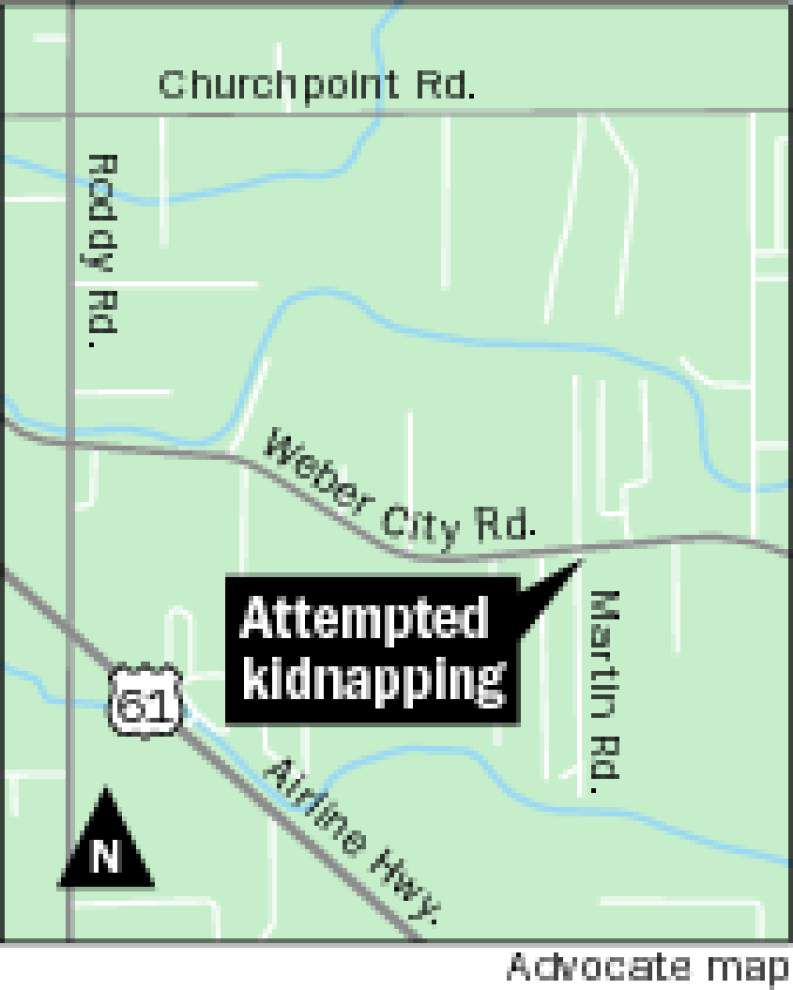 Gonzales woman's screams thwart attempted kidnapping _lowres