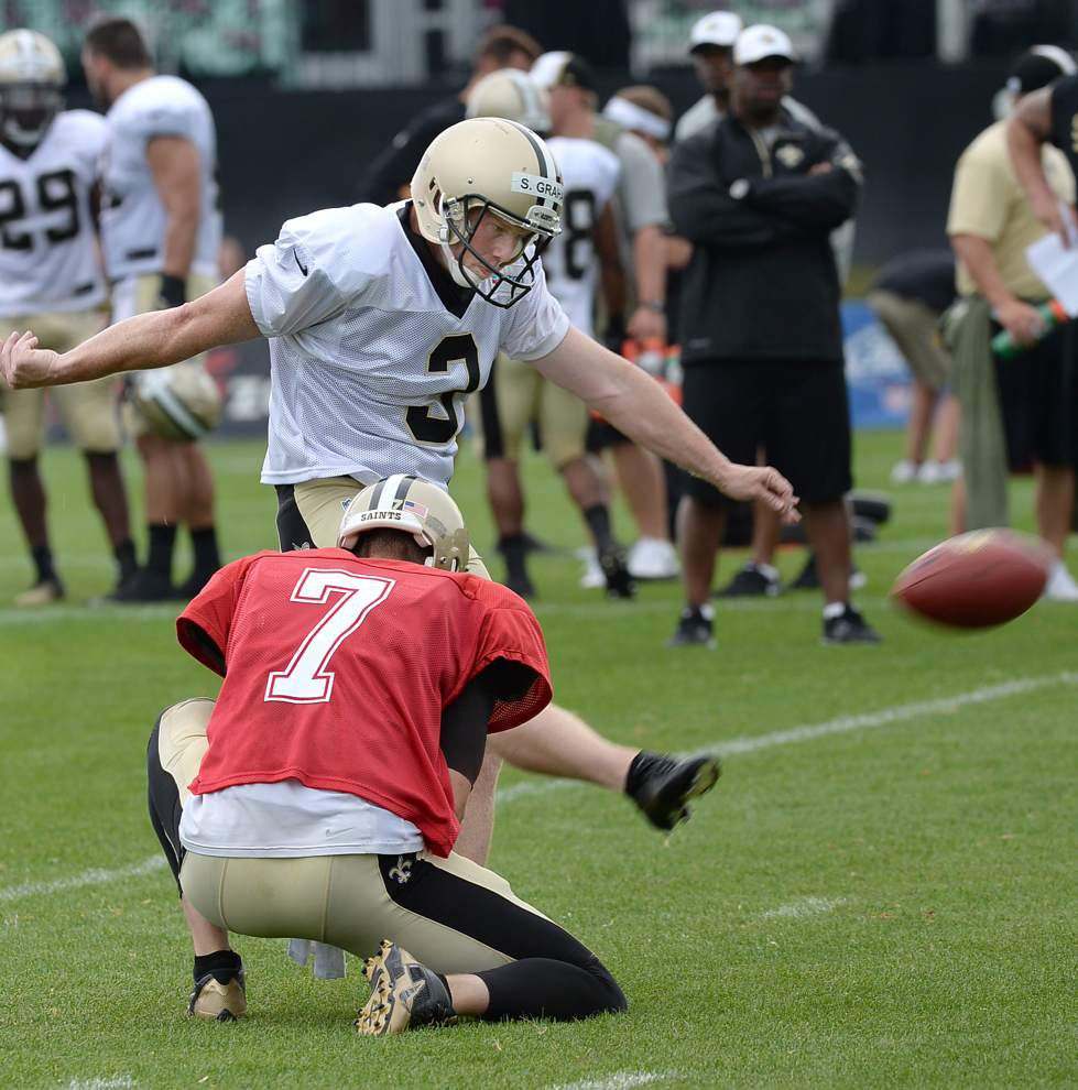 Between the lines: Five observations from Saints training camp Sunday _lowres