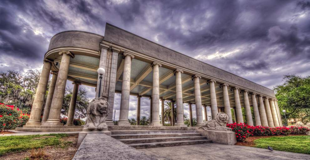 Peristyle image takes top spot in 'The Spirit of City Park' photo contest _lowres