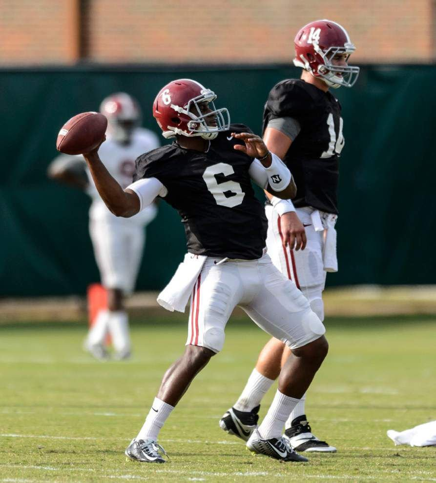 Alabama trying to conquer penalties, turnovers _lowres