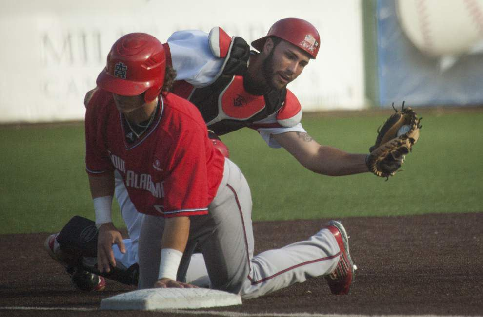 Cajuns eliminated from contention for Sun Belt regular-season title after 4-3 loss to visiting South Alabama _lowres