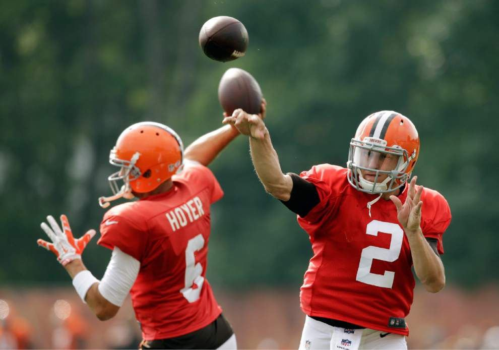 Johnny Manziel not yet ready for Steelers _lowres