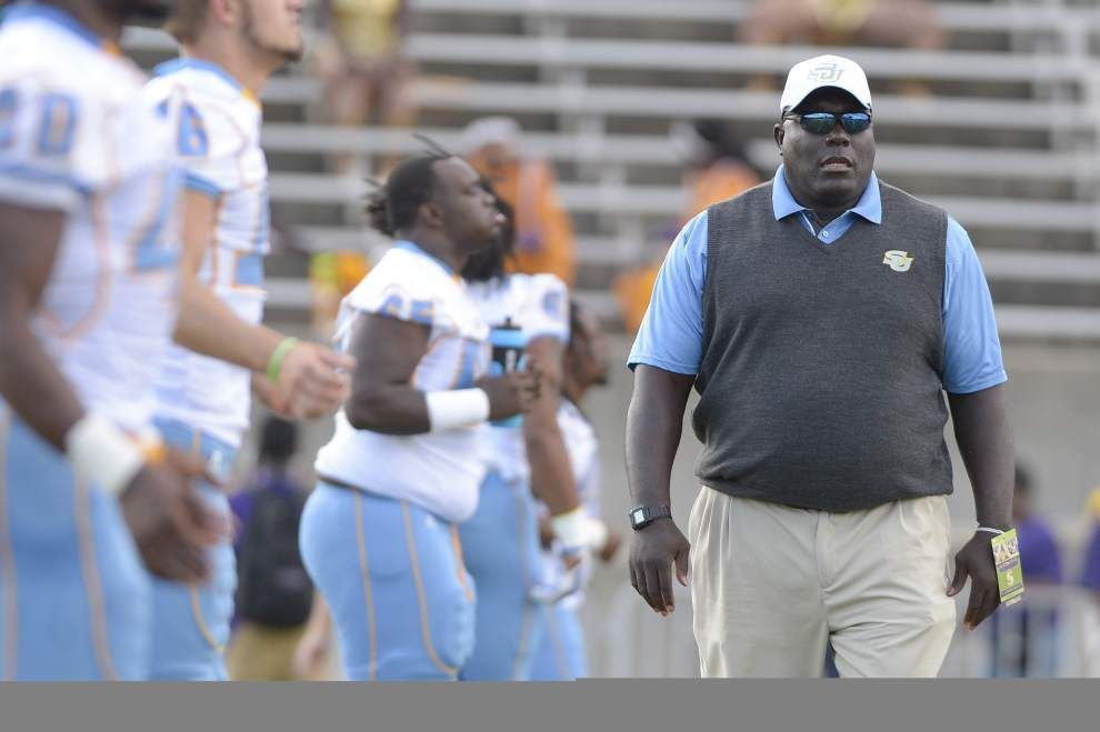 Podcast: Five minutes with Southern football coach Dawson Odums _lowres
