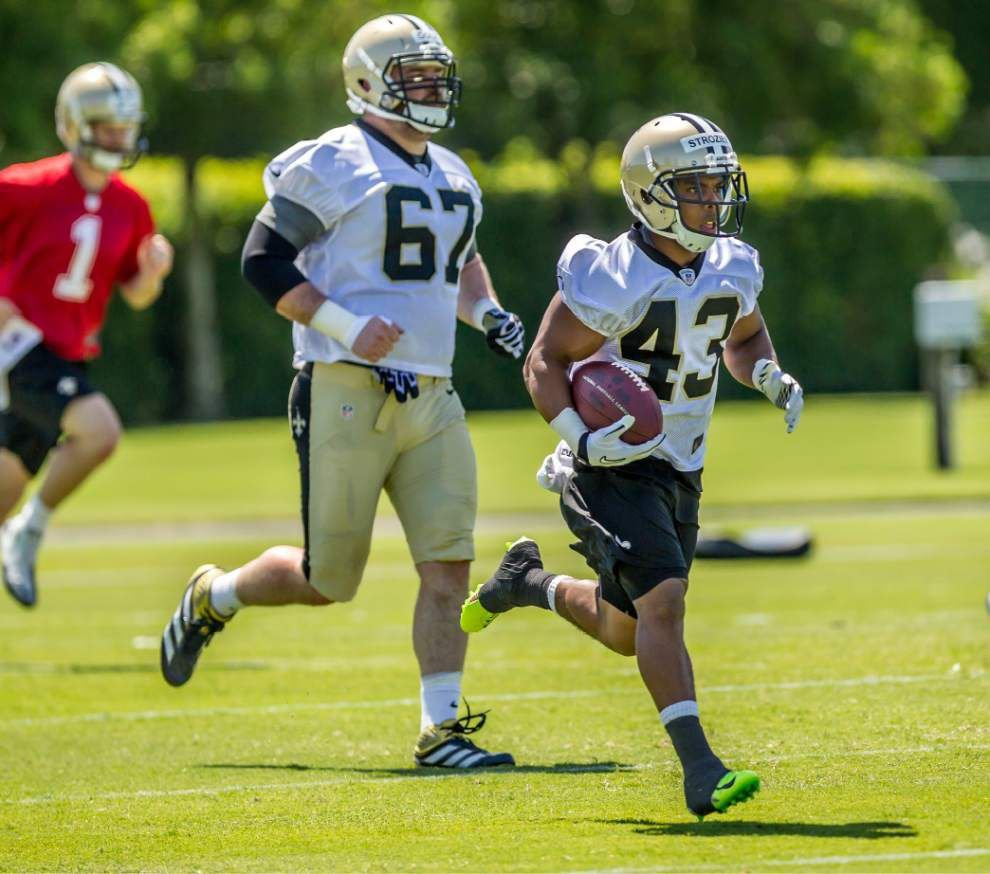 Saints sign four from rookie minicamp tryouts _lowres
