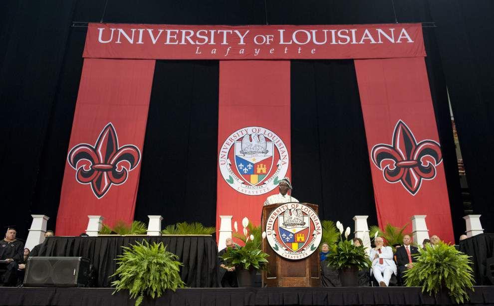 Photos: UL Lafayette graduation _lowres