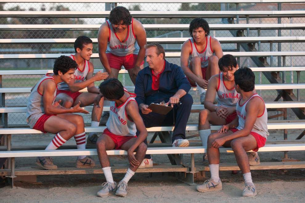 Review: Kevin Costner coaches young actors to unlikely dynasty in 'McFarland, USA' _lowres