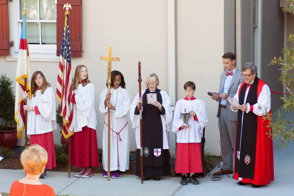 St. Andrew's Episcopal School Grace Hall dedication _lowres