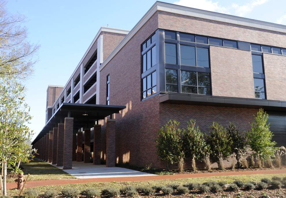 New garage to ease parking woes at UL-Lafayette _lowres