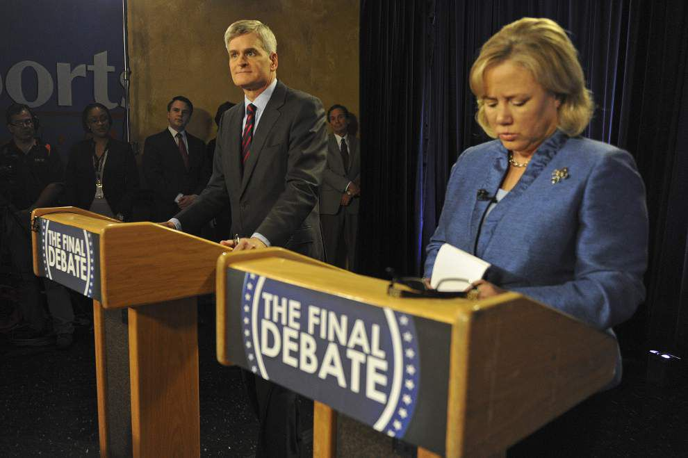 Mary Landrieu, Bill Cassidy take shots at each other in final U.S. Senate debate _lowres