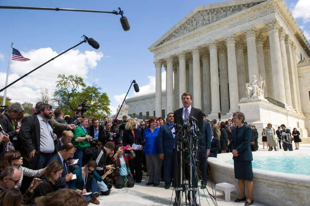 After historic arguments, U.S. Supreme Court to rule on same-sex marriage _lowres