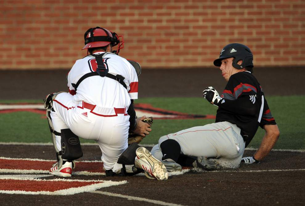 Ragin' Cajuns baseball team done in by mistakes in 3-1 loss to Nicholls State _lowres