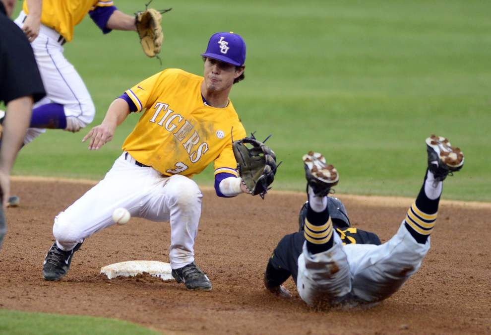 LSU baseball lineup set, Robertson getting love at second base _lowres