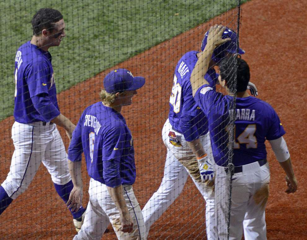 LSU baseball pregame: Nicholls State at LSU _lowres