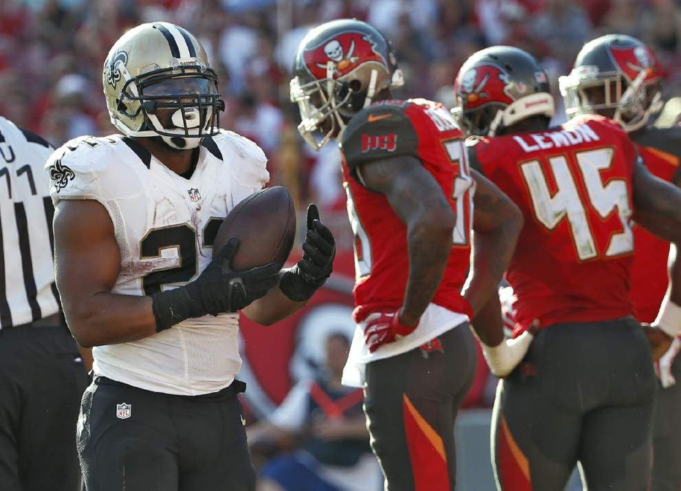 Saints running back Mark Ingram to have a salary cap charge of $2 million in 2015 _lowres