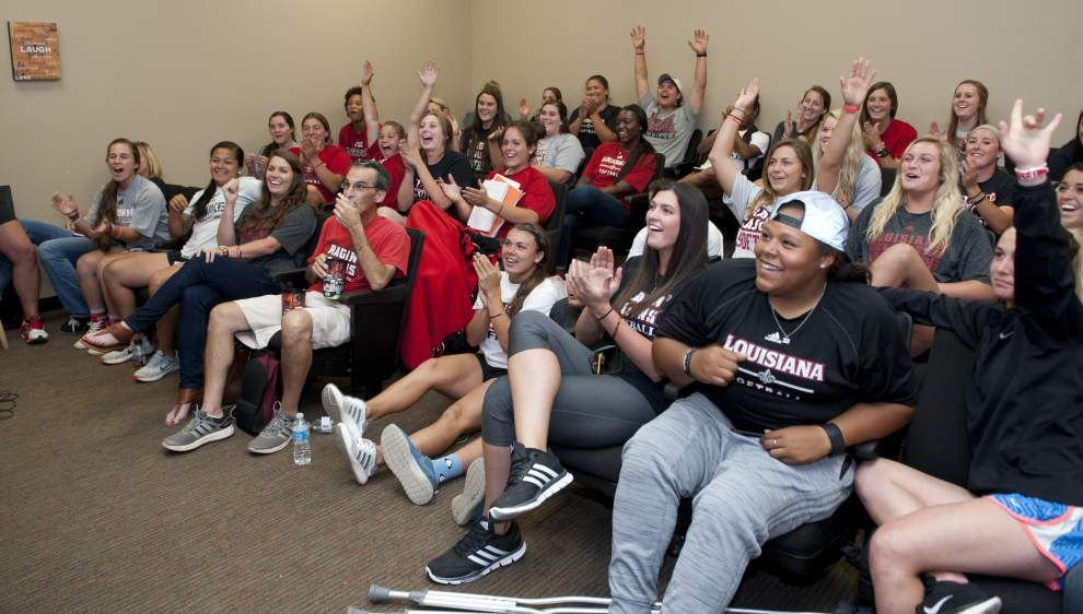 Ragin' Cajuns softball team gets No. 13 seed in NCAA tournament, will host regional starting Friday _lowres