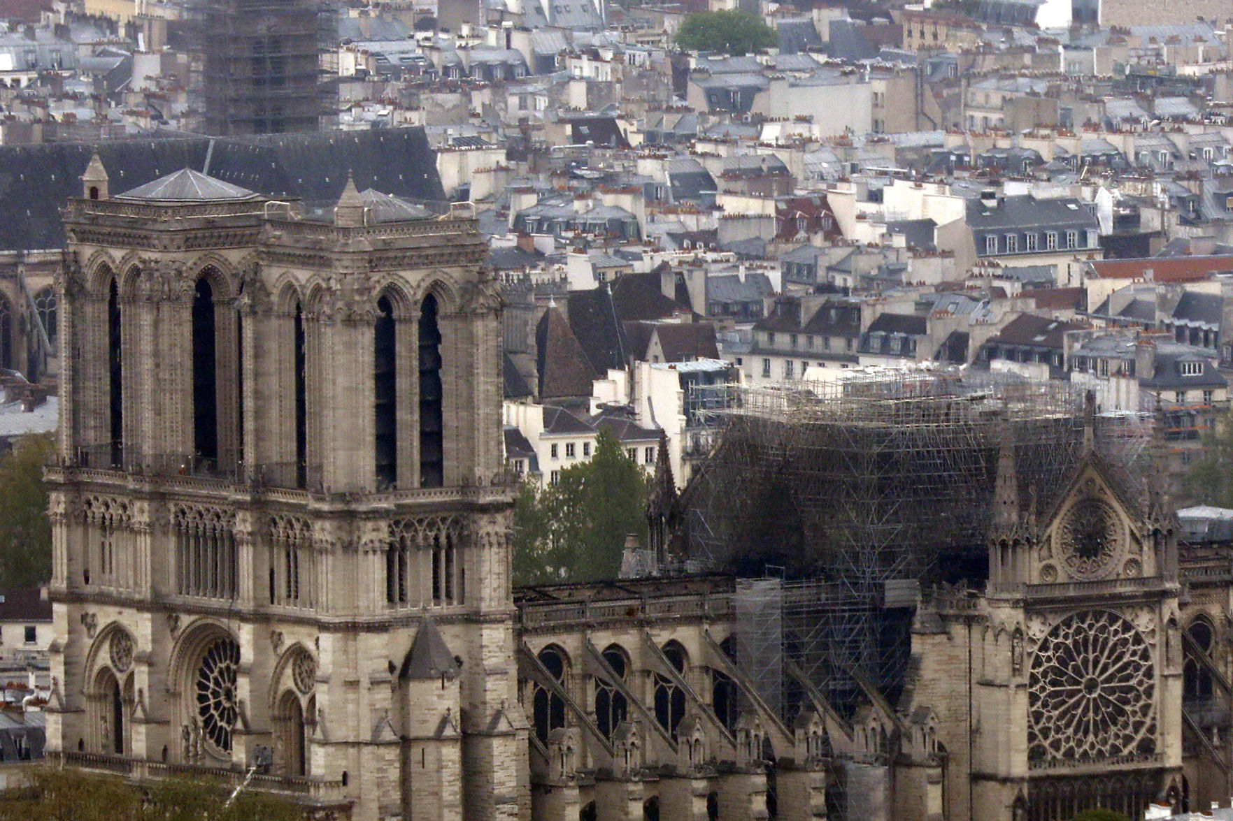 Notre Dame will close for 5-6 years after massive fire, cathedral's rector tells leaders