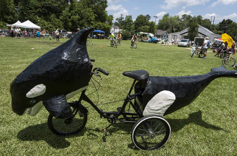 Louisiana Bicycle Festival welcomes the tall and the small to Abita Springs _lowres