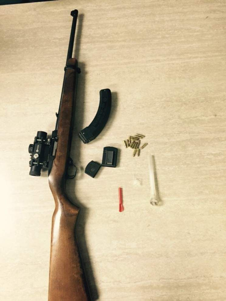 Napoleonville man booked on drug, weapons counts _lowres