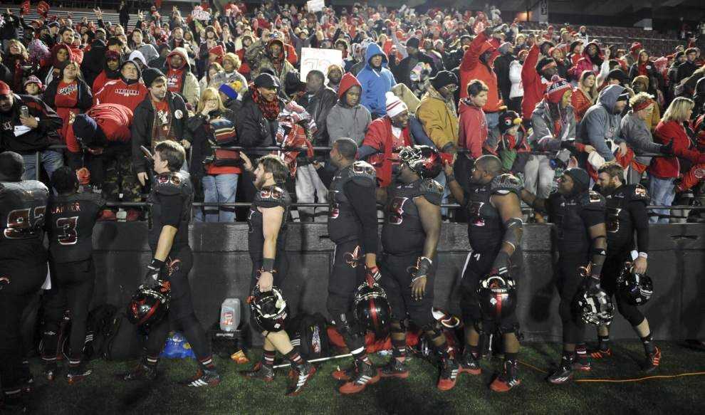 Ragin' Cajuns 34, ULM 27: Three and out _lowres