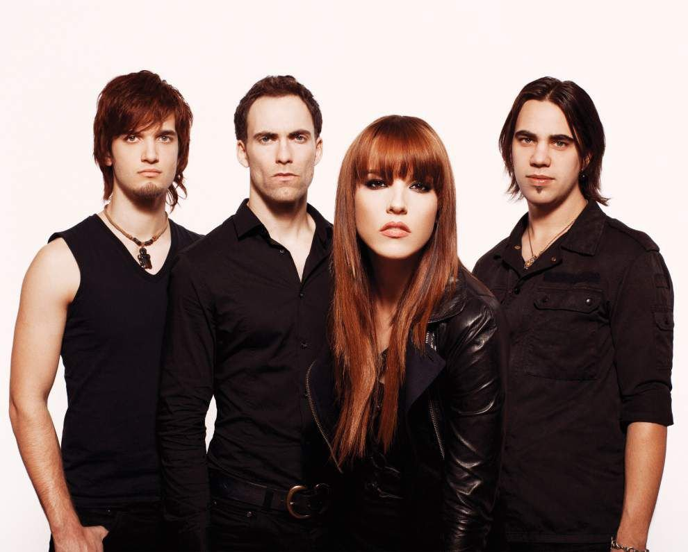 Halestorm: Rocking hard, making history and planning third album _lowres