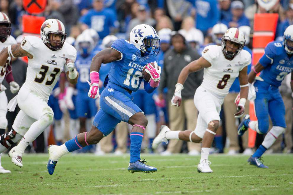 Kentucky's offense finds plenty of contributors in the backfield _lowres