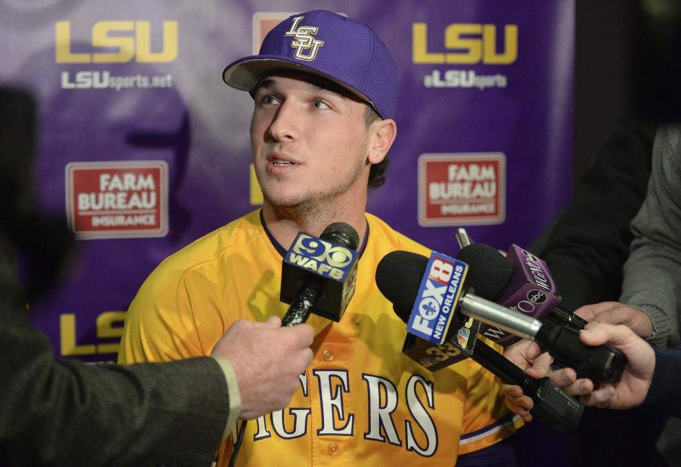 LSU shortstop Alex Bregman named to the Baseball America preseason All America first team _lowres