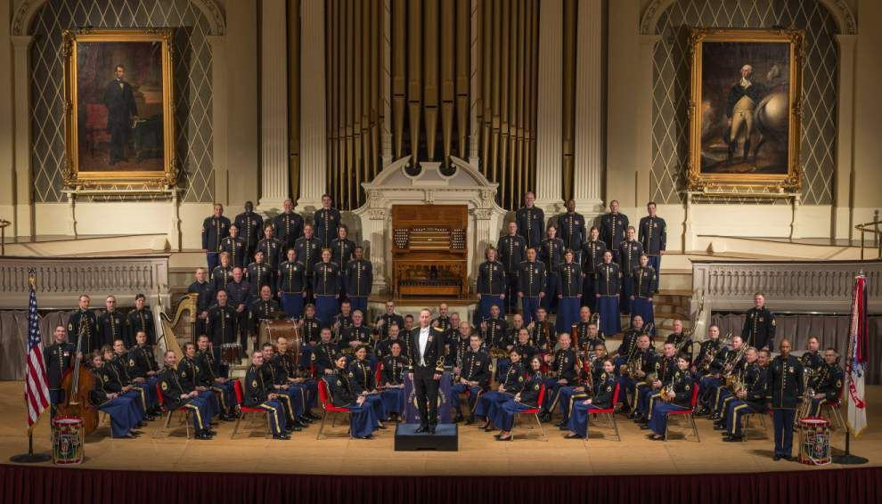 U.S. Army Band and Chorus set to play three free concerts _lowres