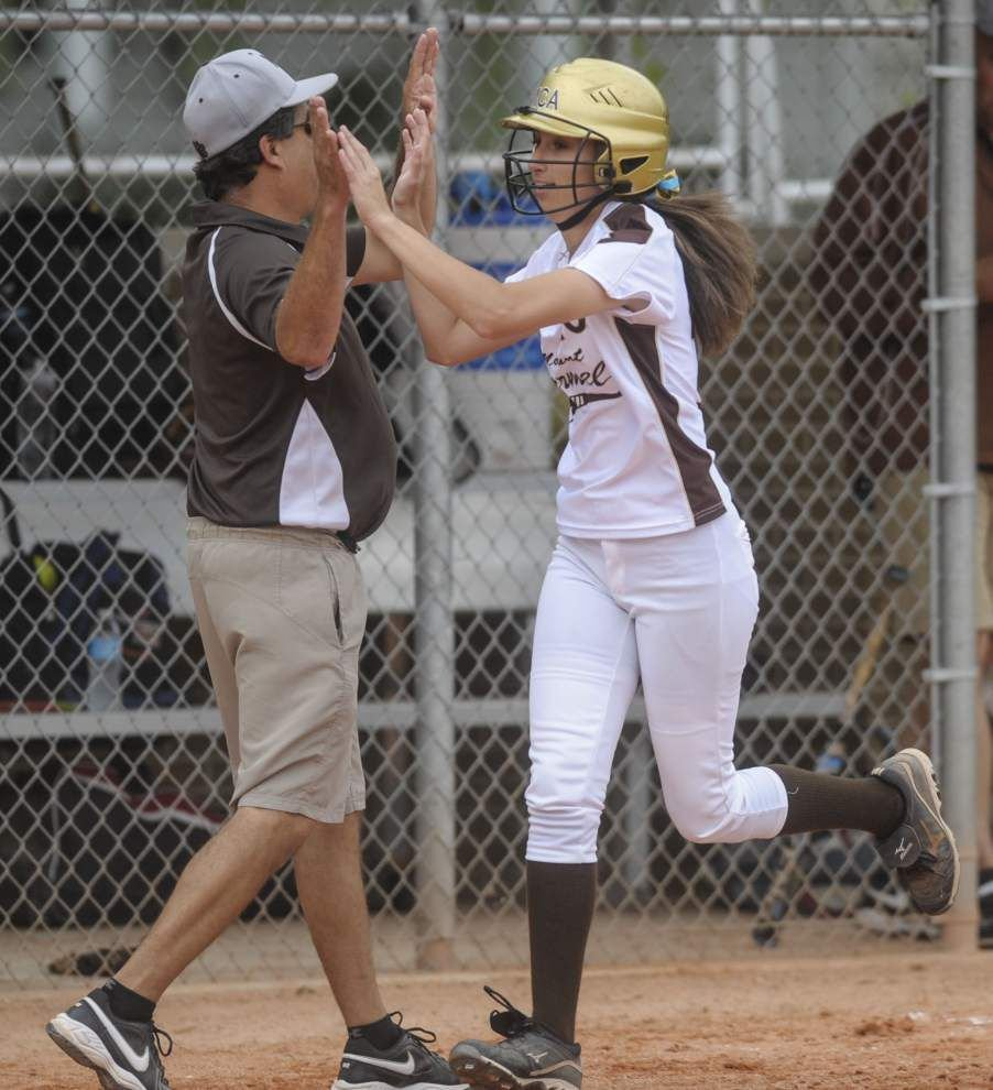 Same place, different lineup for Mount Carmel softball team _lowres