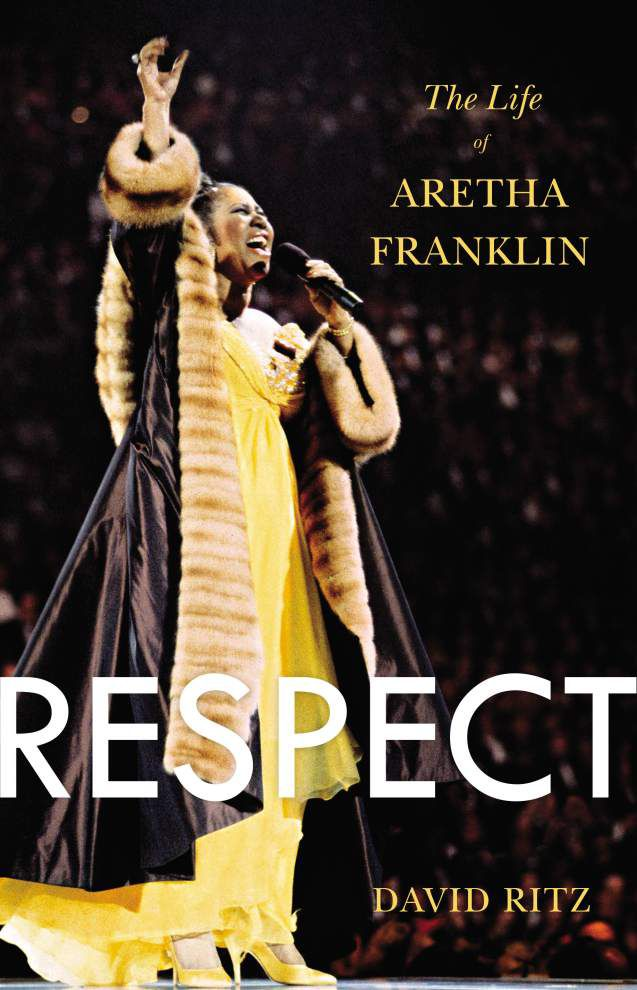 Aretha Franklin blasts author of unauthorized bio _lowres