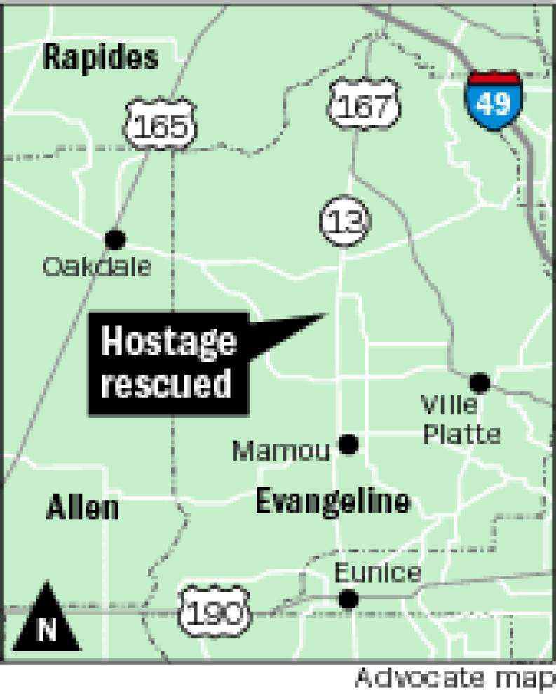 Evangeline Parish man shot, killed by police after taking girlfriend hostage _lowres