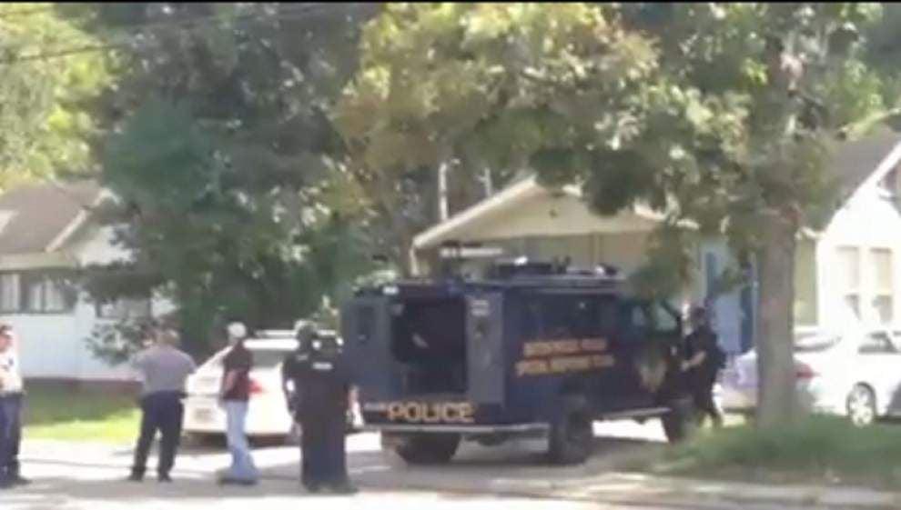 State Police, BRPD raid Evangeline Street home _lowres