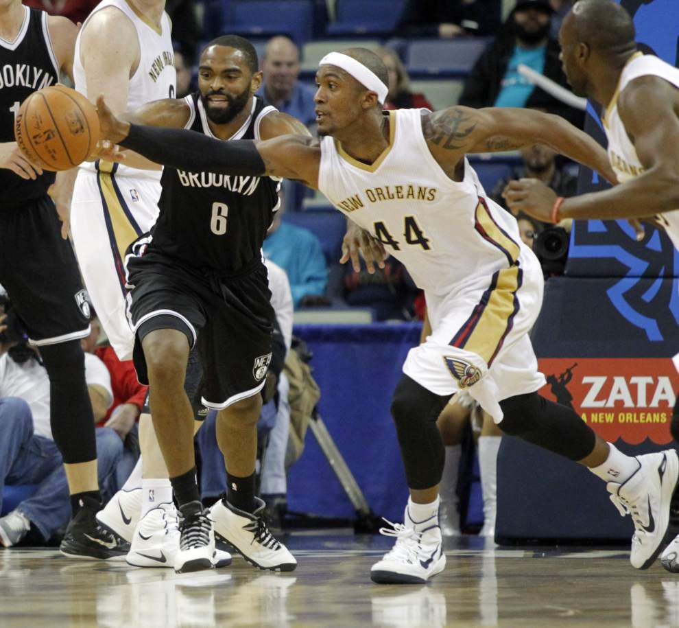 It's all about effort for Dante Cunningham — and that's what he wants from his Pelicans teammates _lowres