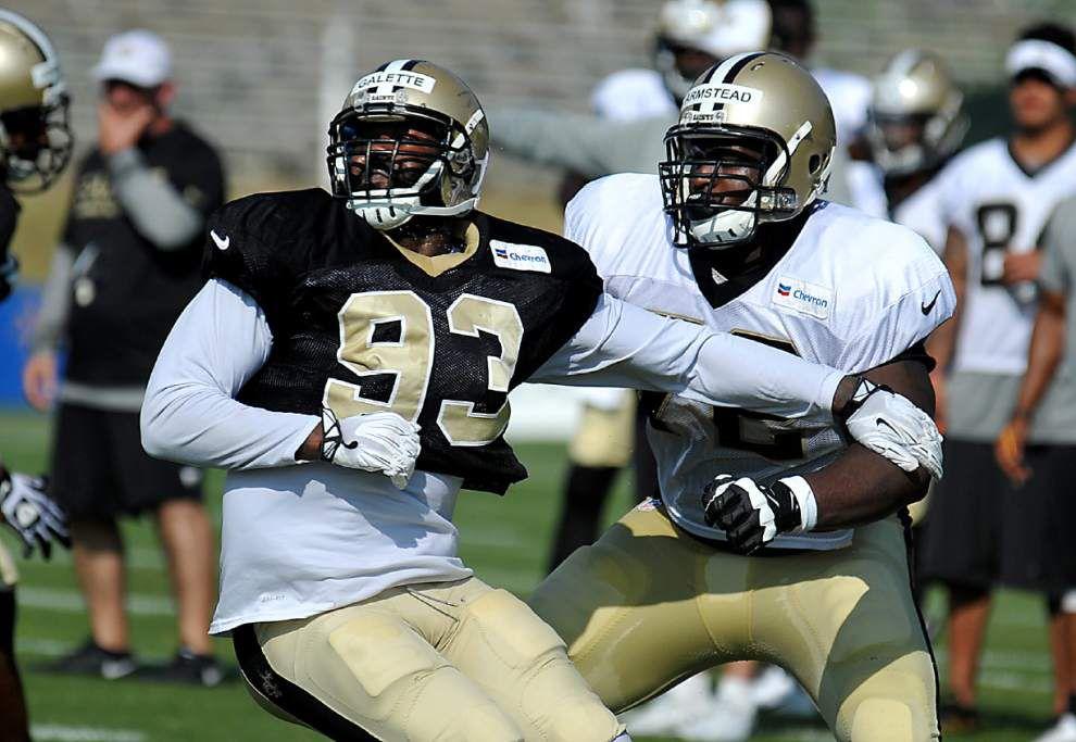 Video: Injuries, intensity headline Saints' Wednesday practice _lowres