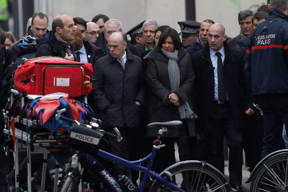 12 dead in attack on Paris newspaper; France goes on alert _lowres