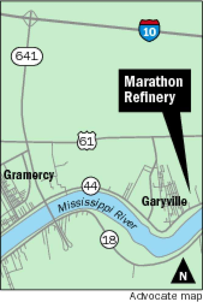 Oil refinery in Garyville hit by tornado, officials say _lowres
