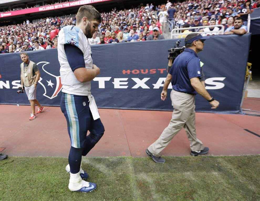 NFL notebook: QB Zach Mettenberger injures shoulder _lowres