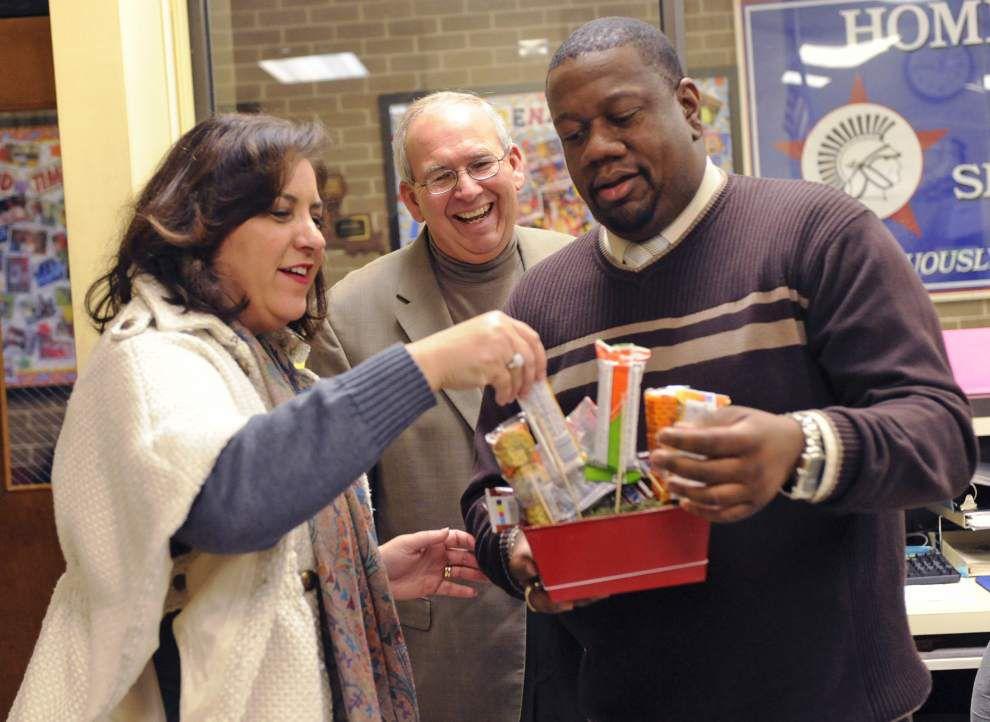 Lafayette schools, students cheer top teachers, principals _lowres
