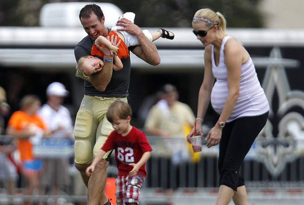 Drew Brees and his wife have welcomed a new baby girl _lowres