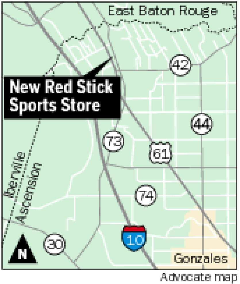 Red Stick Sports opens in Prairieville _lowres