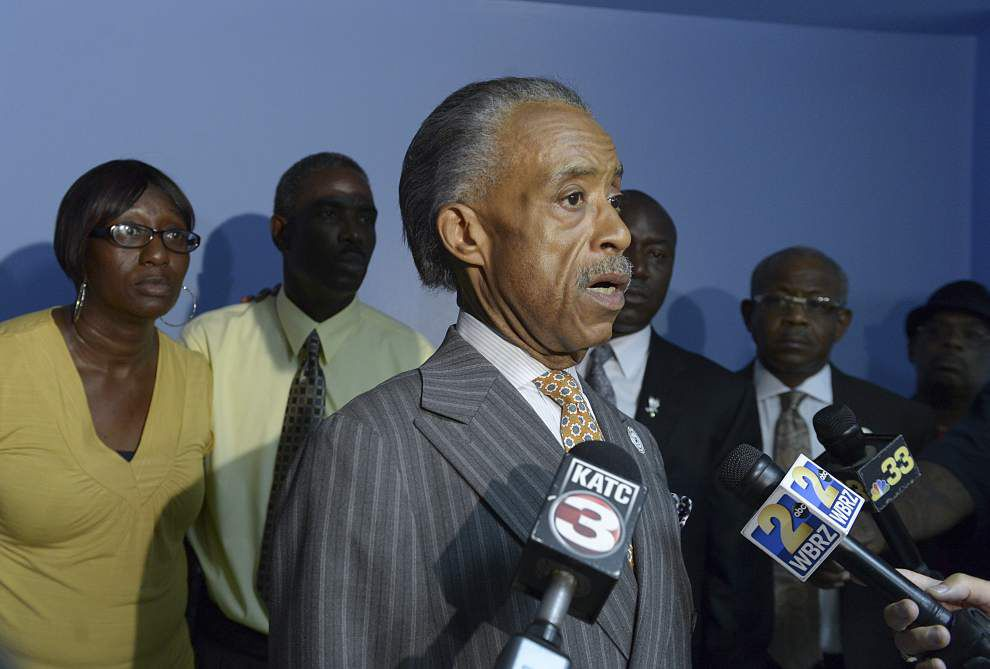 Sharpton, attorney question police narrative in death of New Iberia man _lowres