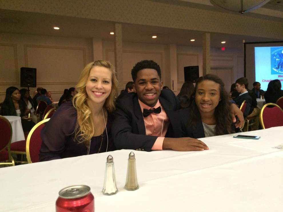 St. Amant DECA wins big at conference in BR _lowres